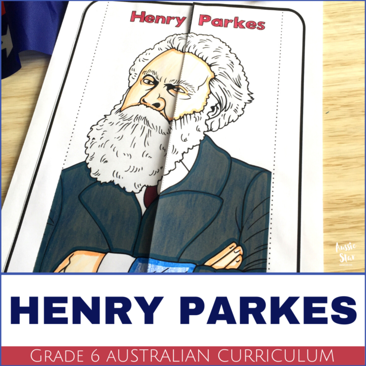 Australian Federation Henry Parkes Lesson Activity
