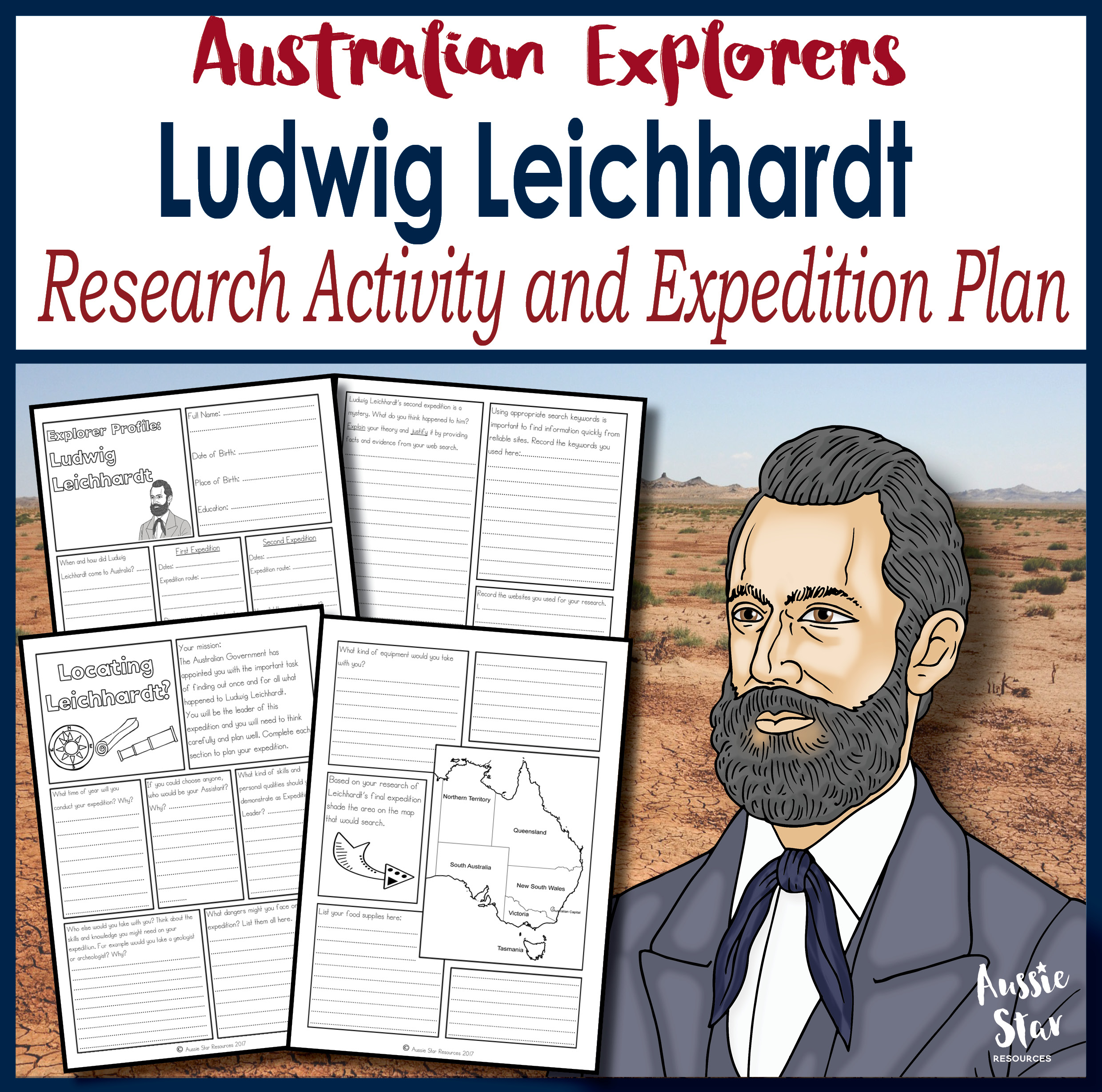 Ludwig Leichhardt Research Activity and Expedition Planner