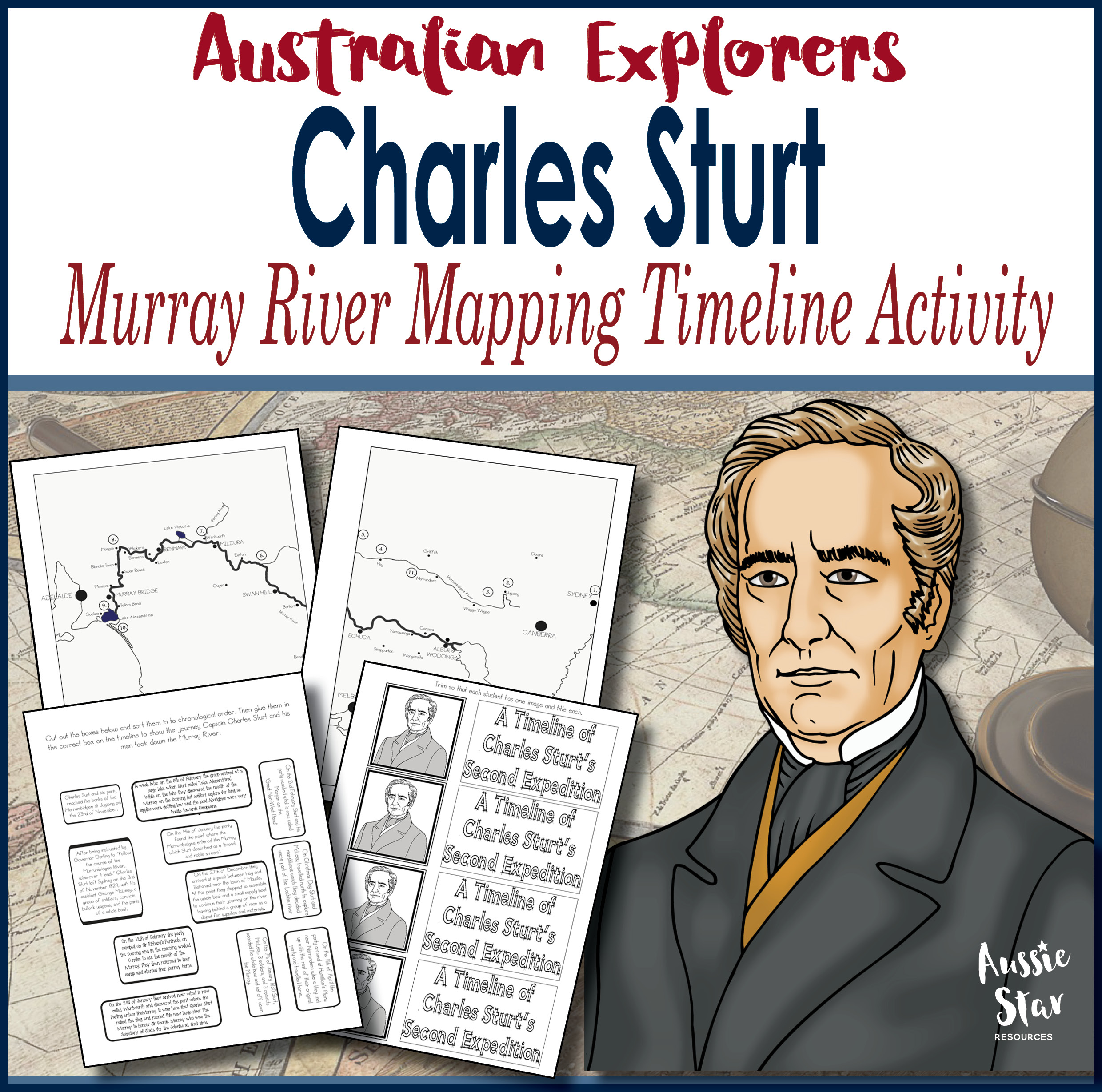Charles Sturt Timeline Mapping Activity