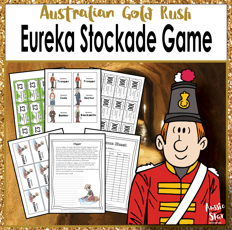 Australian Gold Rush Eureka Stockade - Show Us Yer Licence! Game