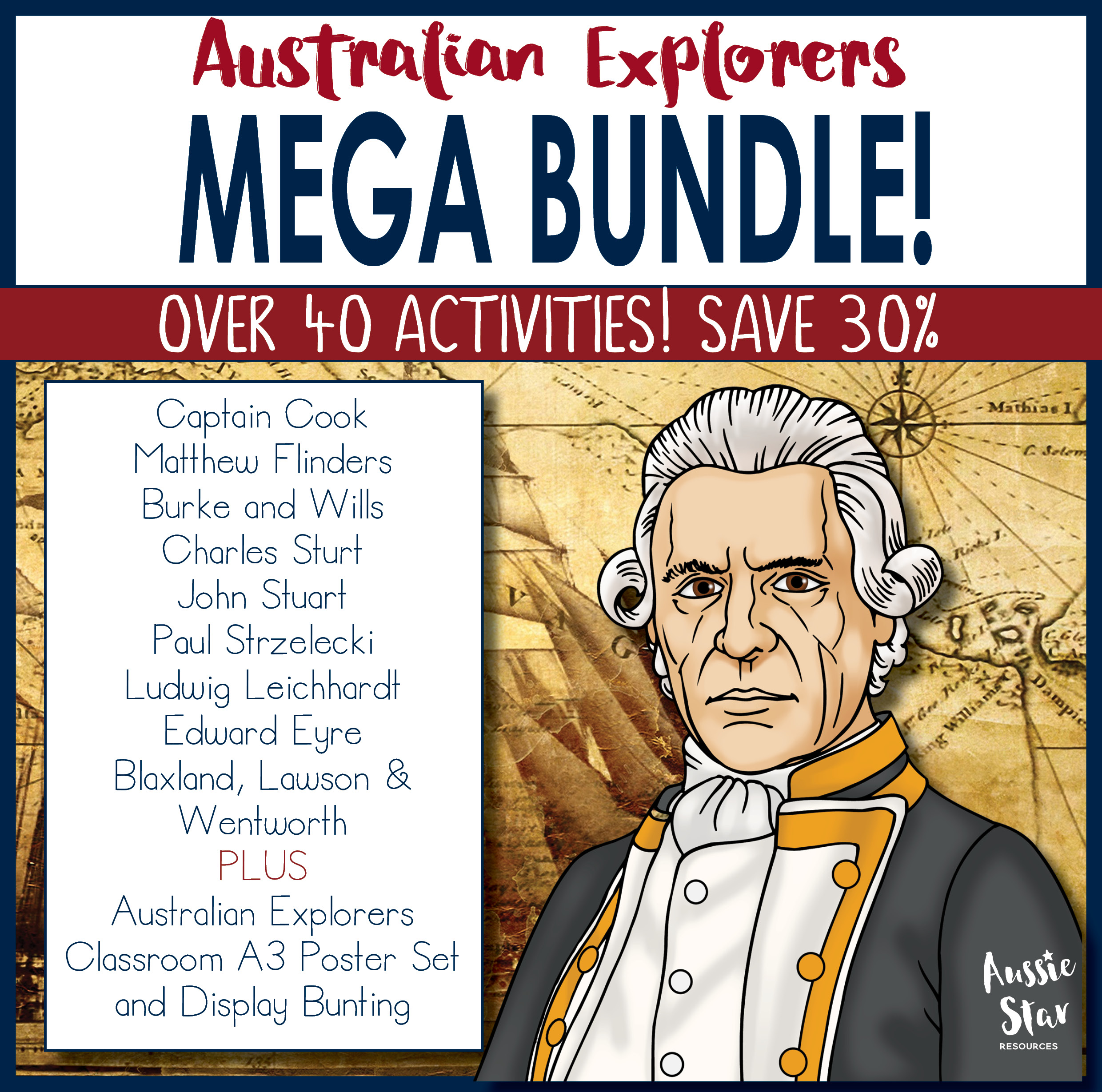 Australian Explorers mega bundle save 30