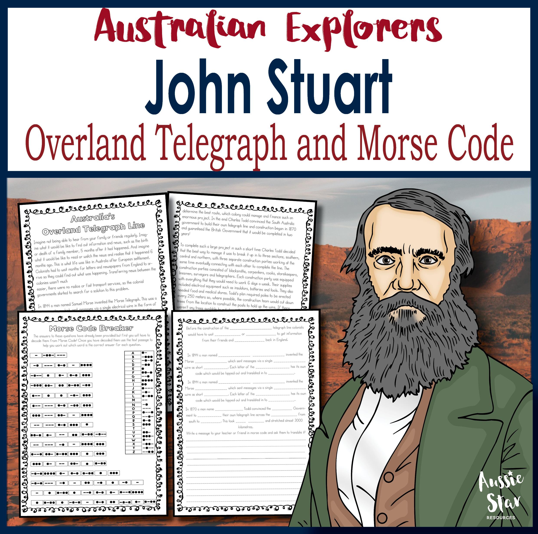 John Stuart Australia's Overland Telegraph Activity