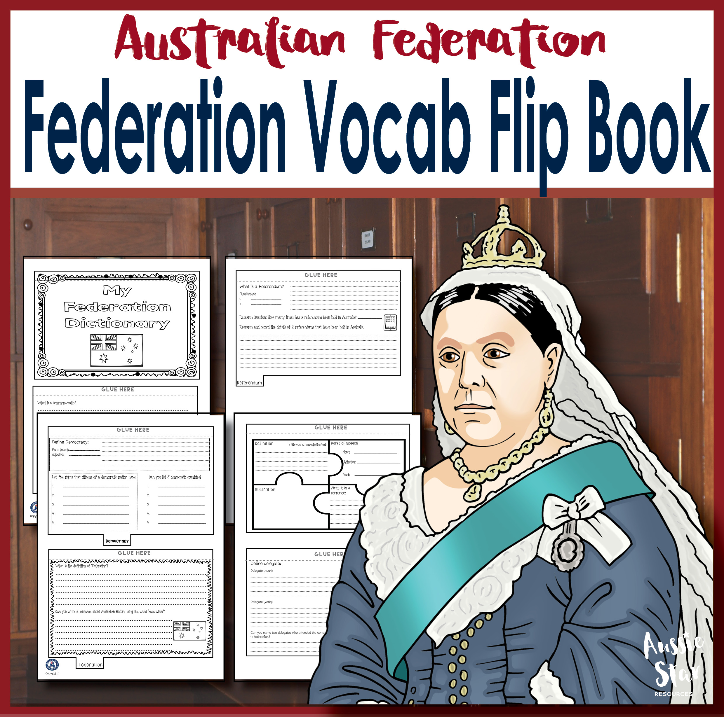 Federation Vocabulary Flip Book