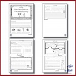 Federation vocabulary flip book pages