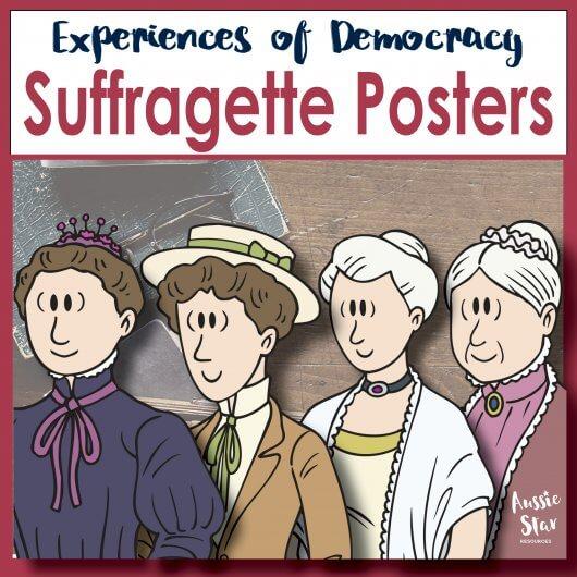 Australian-suffragette-posters-Australian-Democracy