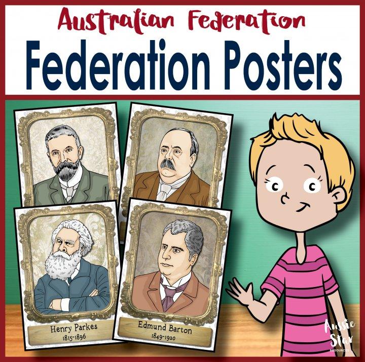 famous faces of Australian federation