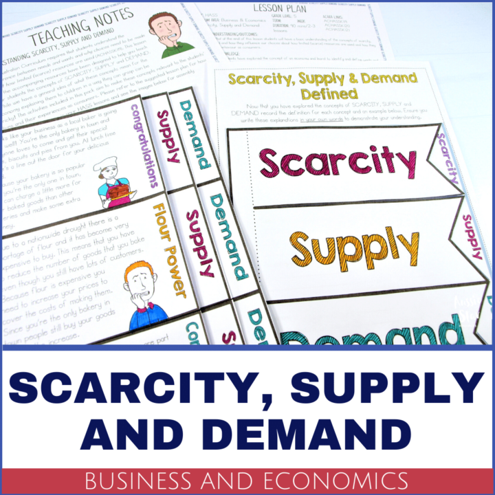 Year 5 Business and Economics Scarcity supply and demand