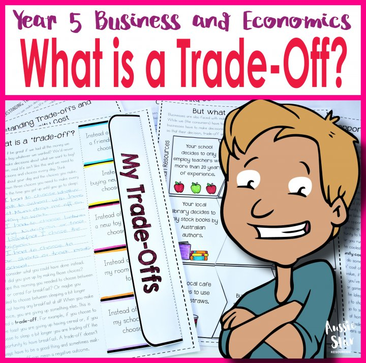 Year 6 business and economics teaching resources what is a trade-off and opportunity cost