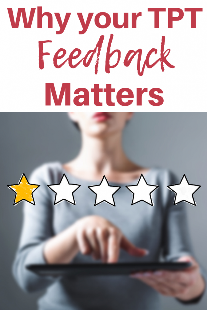 TPT Feedback Blog Post