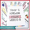 YEAR 6 AUSTRALIAN CURRICULUM HOMEWORK