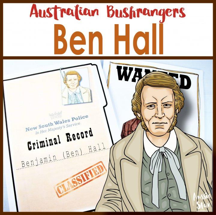 Ben Hall Australian Bushranger
