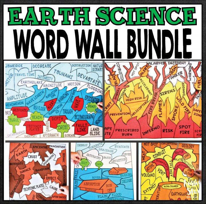 earth-science-word-wall-bundle