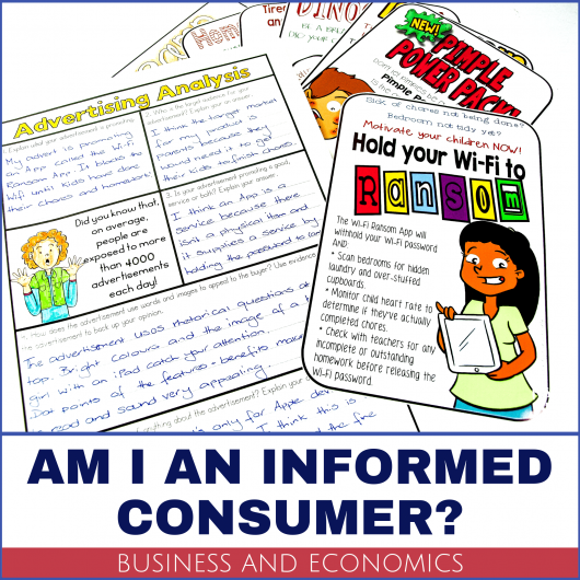 business and economics teaching resources consumer