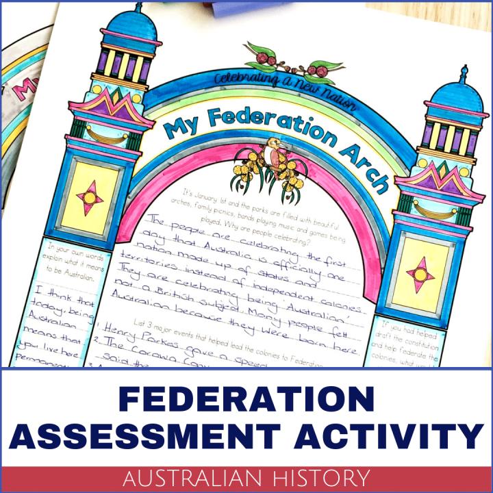 Australian Federation Assessment Activity