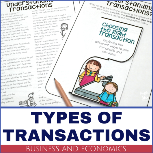 year-5-business-and-economics-HASS-types-of-financial-transactions-lesson-activity