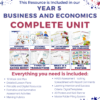 australian curriculum hass business and economics complete unit thumbnail