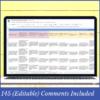 Year 6 HASS Australian Curriculum Assessment Digital Grade Book and Report Comment Tracker